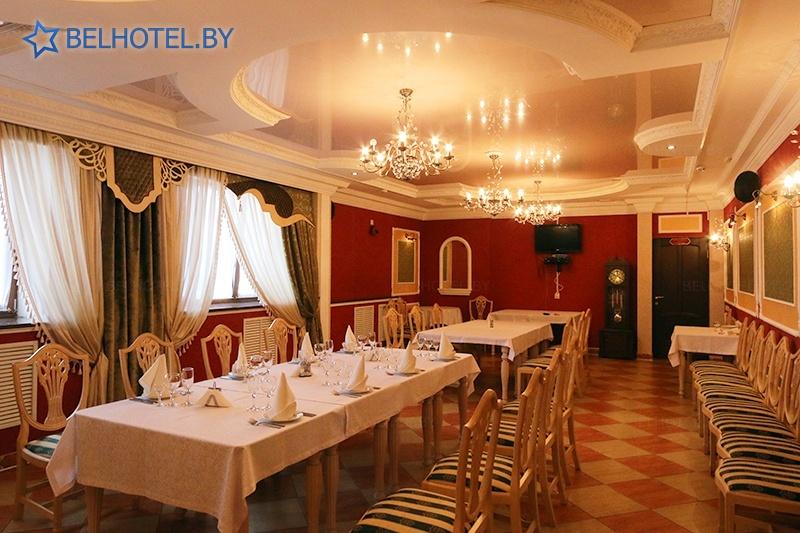 Hotels in Belarus - hotel complex Izumrud Krugloe - Banquet room