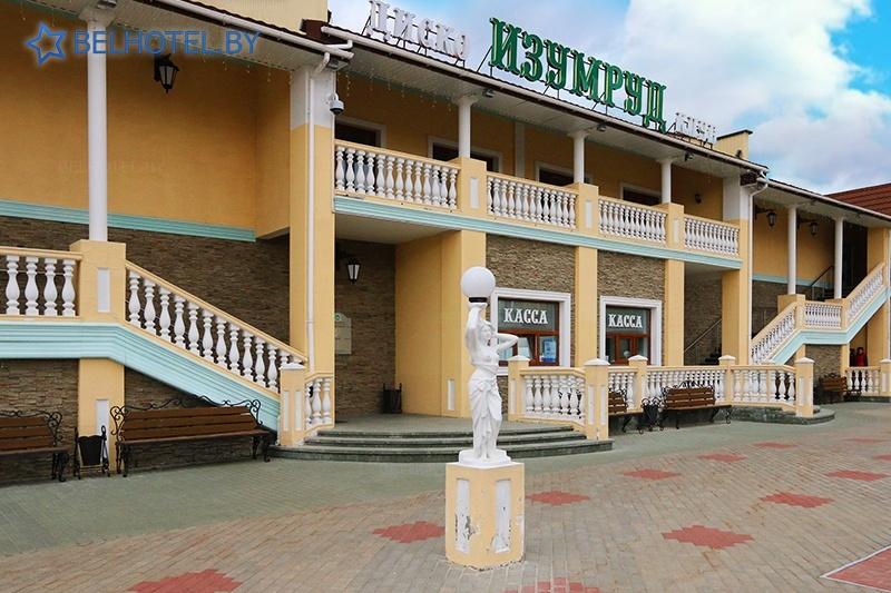 Hotels in Belarus - hotel complex Izumrud Krugloe - External appearance