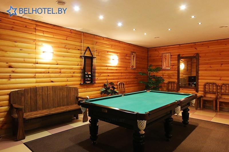 Hotels in Belarus - hotel complex Izumrud Krugloe - Sauna