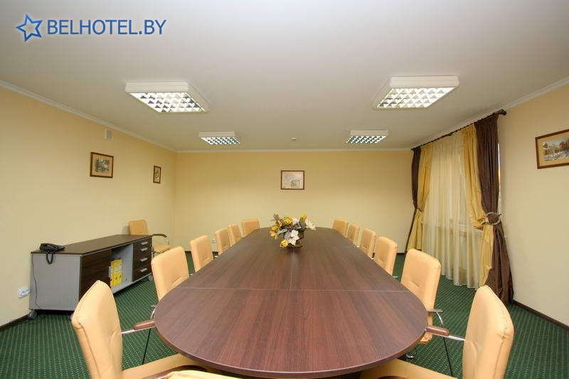 Гостиницы Белоруссии Беларуси - гостиница Энергия - Комната для переговоров