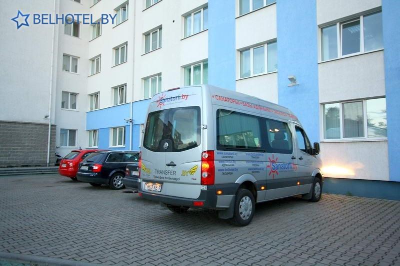 Гостиницы Белоруссии Беларуси - гостиница Энергия - Автостоянка