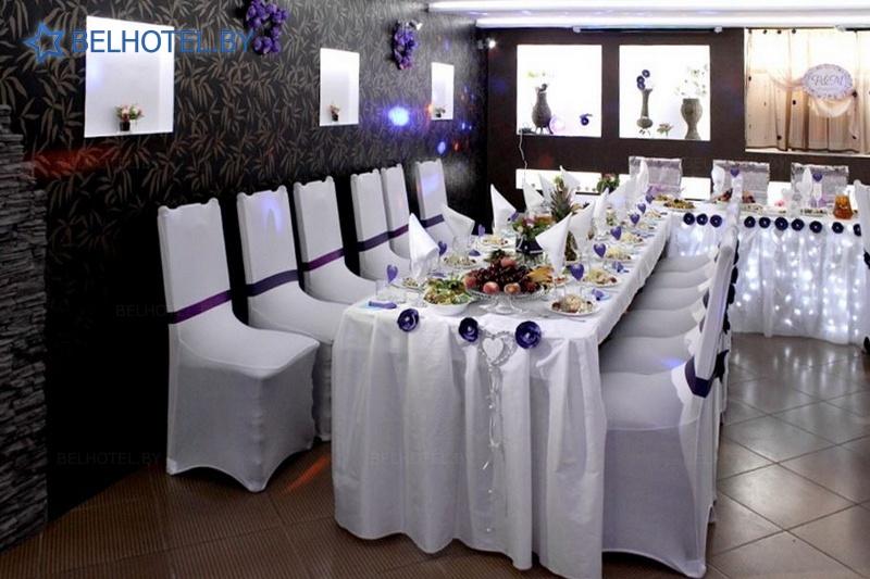 Hotels in Belarus - hotel Kentavr - Banquet room