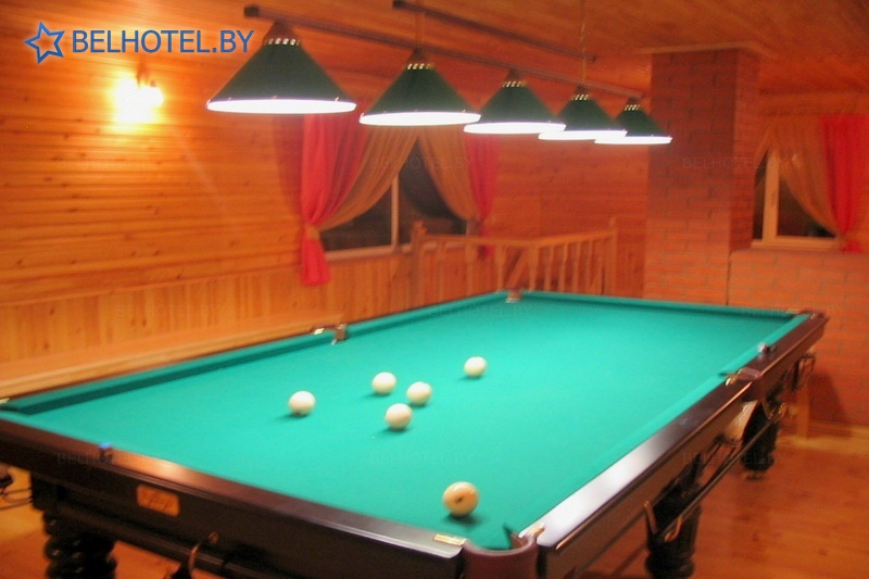 Hotels in Belarus - hotel Kentavr - Billiards