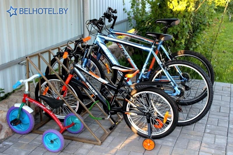 Hotels in Belarus - hotel Kentavr - Bicycle rental