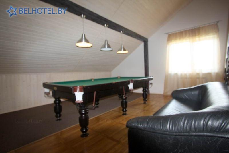 Гостиницы Белоруссии Беларуси - гостиница Норд - Бильярд