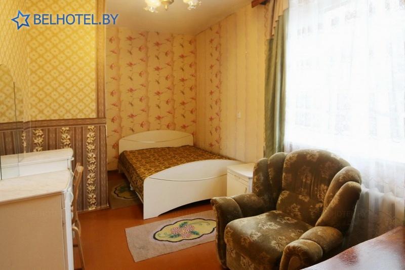 Гостиницы Белоруссии Беларуси - гостиница СДЮШОР - 1-местный 1-комнатный