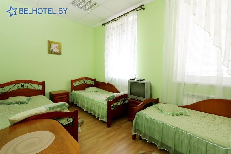 Hotels in Belarus - hotel Veneciya - triple 1-room / shower on the floor