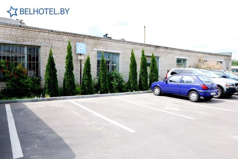 Hotels in Belarus - hotel Veneciya - Car park