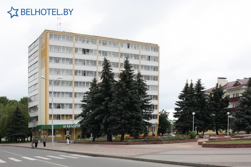 Гасцініцы Беларусі - гасцініца Юбiлейная - Навакольныя пейзажы