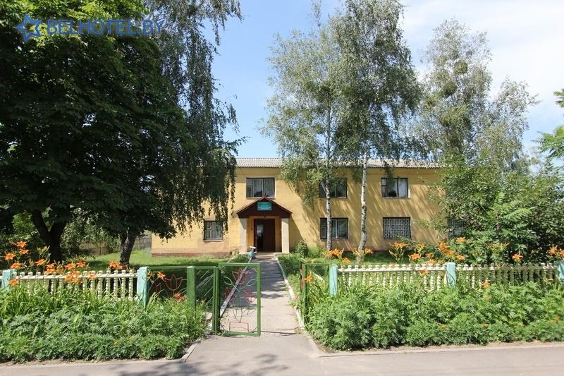 Гостиницы Белоруссии Беларуси - гостиница Днепр - Внешний вид