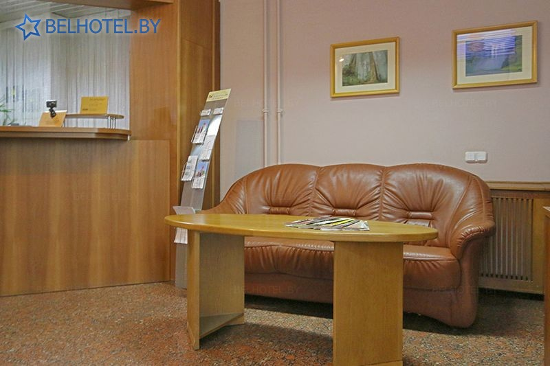 Hotels in Belarus - hotel PC Gazprom Transgaz Belarus - Reception, hall
