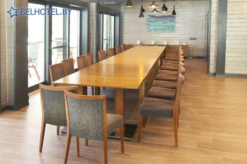 Hotels in Belarus - hotel complex Chalet Greenwood - Conference room