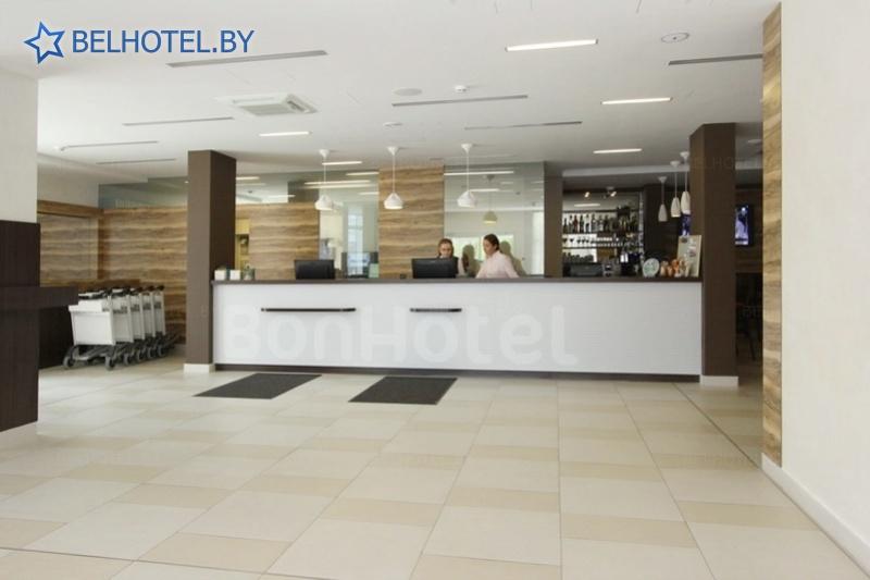 Hotels in Belarus - hotel BonHotel - Reception, hall