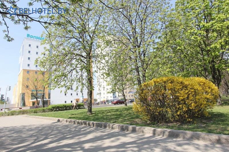 Hotels in Belarus - hotel BonHotel - External appearance