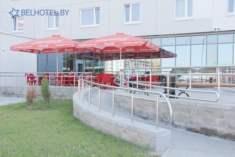 Hotels in Belarus - hotel Sport Time - Summer cafe