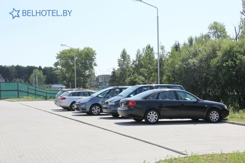 Hotels in Belarus - hotel Sport Time - Parking