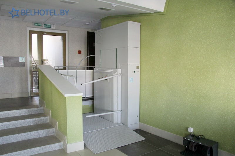 Hotels in Belarus - hotel Sport Time - For people with disabilities - rampant