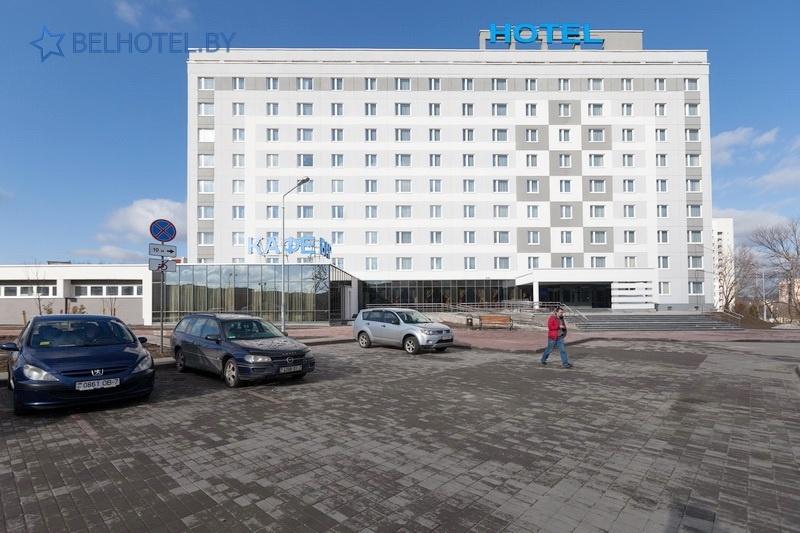 Hotels in Belarus - hotel East Time - Parking