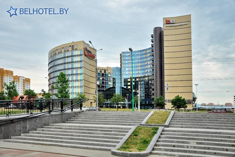 Гостиницы Белоруссии Беларуси - гостиница Виктория Олимп - Внешний вид
