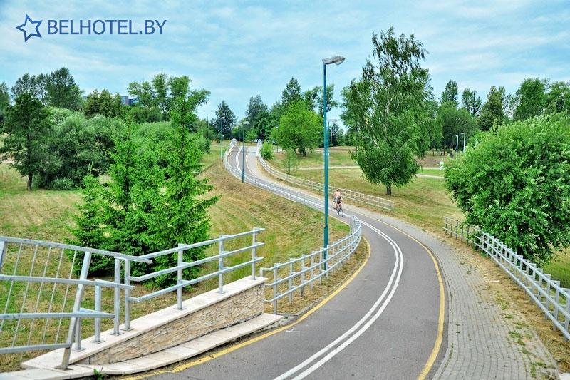 Гостиницы Белоруссии Беларуси - гостиница Виктория Олимп - Окрестные пейзажи