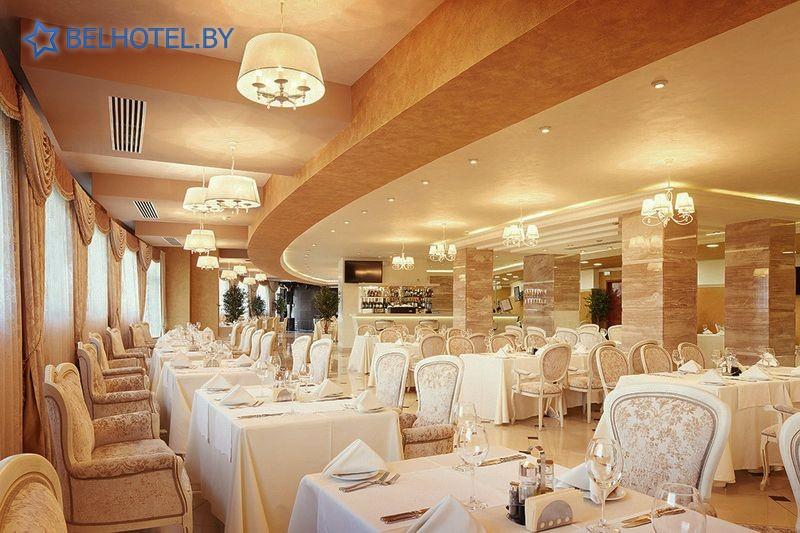 Гостиницы Белоруссии Беларуси - гостиница Виктория Олимп - Ресторан