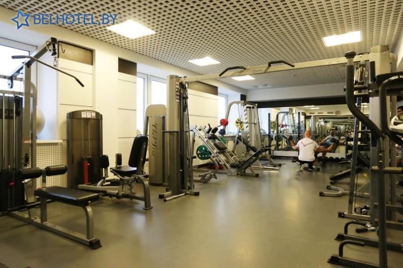 Гостиницы Белоруссии Беларуси - гостиница Арена - Тренажерный зал