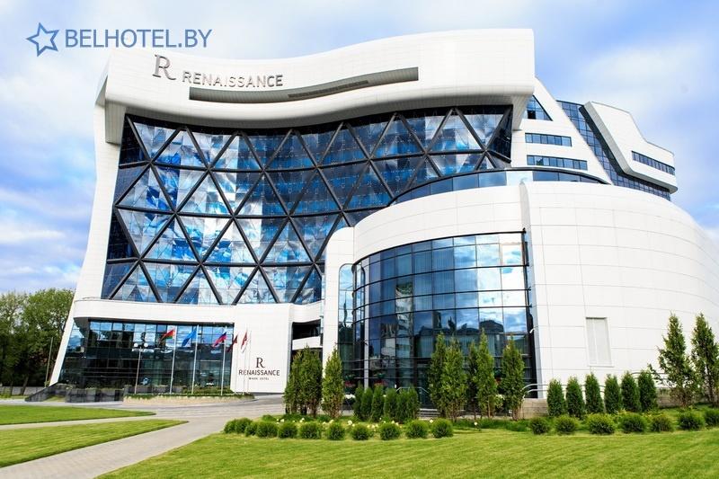 Гасцініцы Беларусі - гатэль Renaissance Minsk Hotel - Знешні выгляд