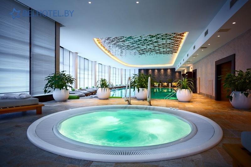 Гасцініцы Беларусі - гатэль Renaissance Minsk Hotel - Басейн