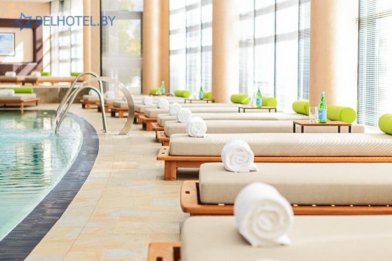 Hotels in Belarus - hotel Renaissance Minsk Hotel - Swimming pool