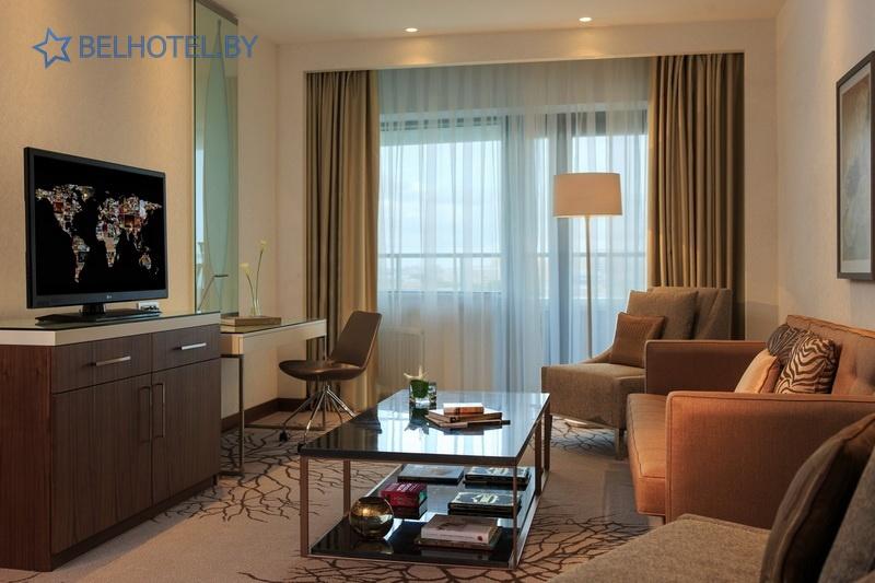Гасцініцы Беларусі - гатэль Renaissance Minsk Hotel - 2-месны 2-пакаёвы / Junior Suite
