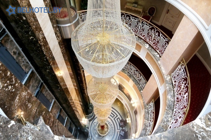 Hotels in Belarus - hotel Buta Boutique Hotel - Reception, hall