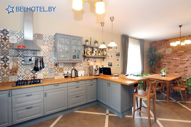Hotels in Belarus - hotel Dom number 15 - Common kitchen