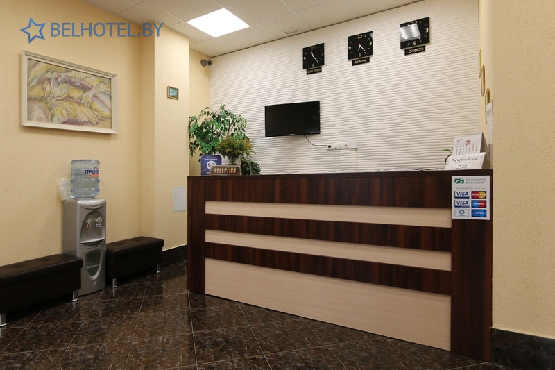 Hotels in Belarus - hotel Central - Reception, hall