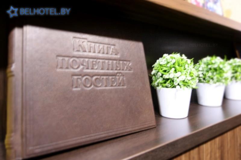 Гостиницы Белоруссии Беларуси - отель М-отель - Регистратура, холл