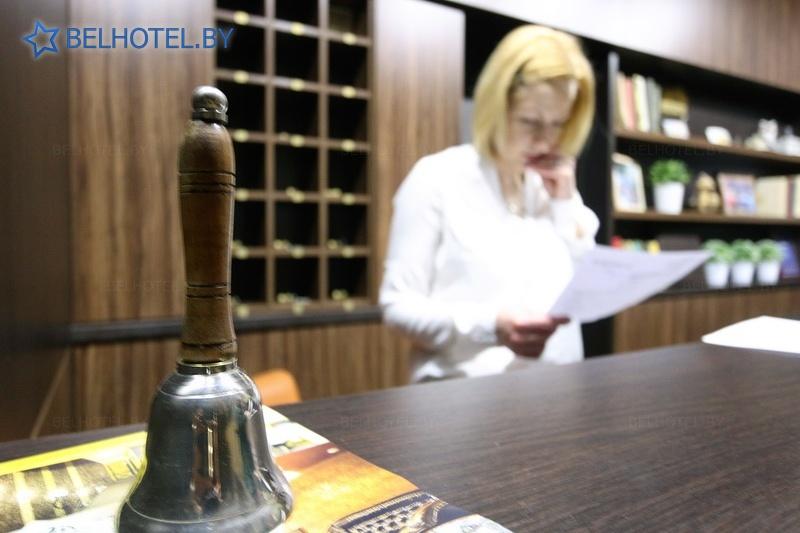 Hotels in Belarus - hotel M hotel - Reception, hall