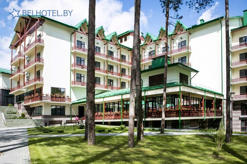 Hotels in Belarus - hotel complex Forum Minsk - External appearance