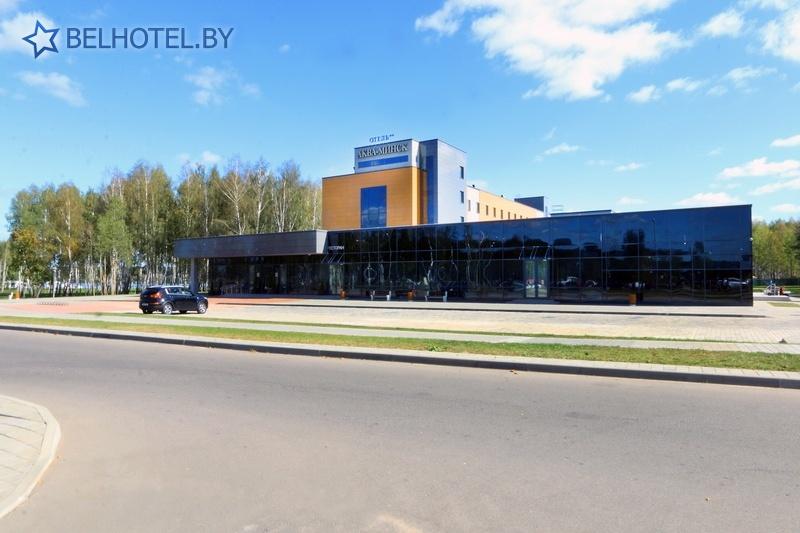 Hotels in Belarus - hotel Akva Minsk - External appearance