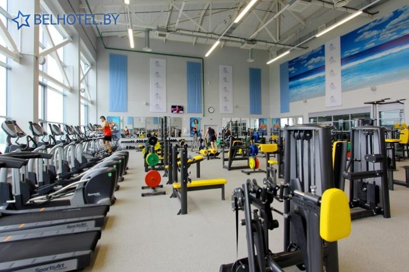 Hotels in Belarus - hotel Akva Minsk - Gym