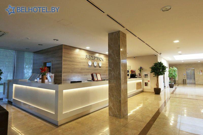 Hotels in Belarus - hotel Akva Minsk - Reception, hall