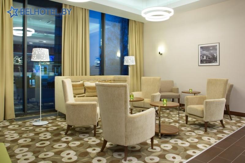 Hotels in Belarus - hotel Hampton by Hilton Minsk City Center - Reception, hall