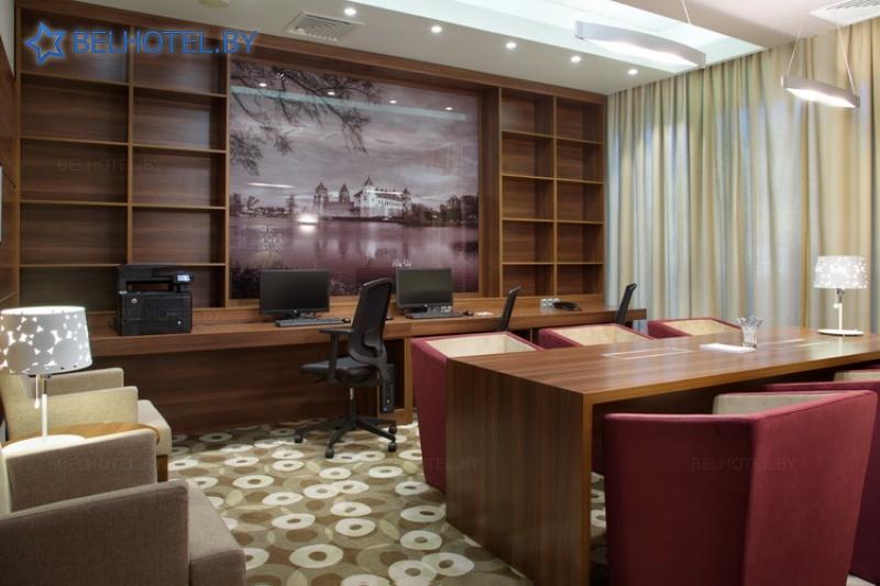 Гасцініцы Беларусі - гатэль Хэмптан бай Хілтан / Hampton by Hilton Minsk City Center - Інфраструктура