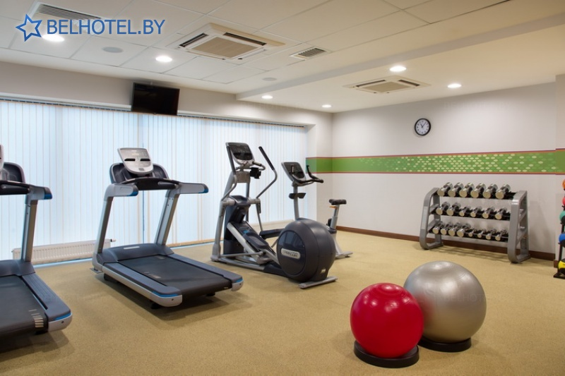 Hotels in Belarus - hotel Hampton by Hilton Minsk City Center - Gym
