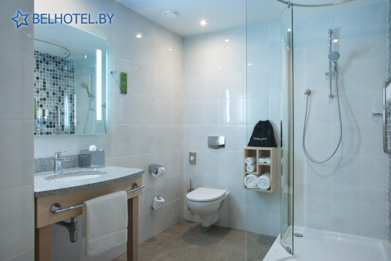 Hotels in Belarus - hotel Hampton by Hilton Minsk City Center - double 1-room Family