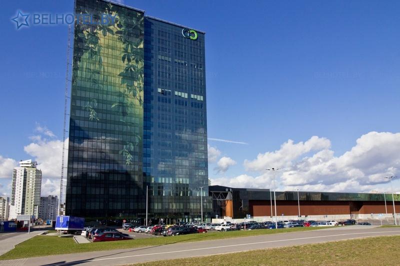 Hotels in Belarus - hotel Green City - External appearance