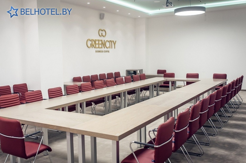 Hotels in Belarus - hotel Green City - Conference room