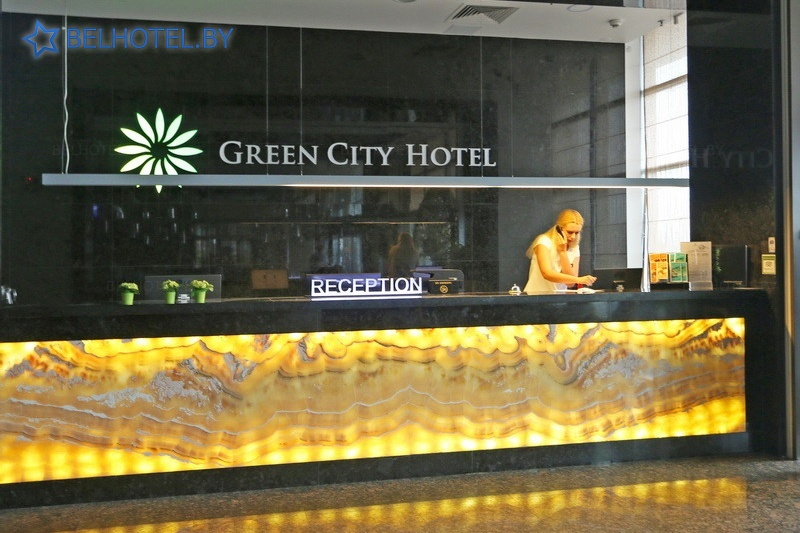 Hotels in Belarus - hotel Green City - Reception, hall