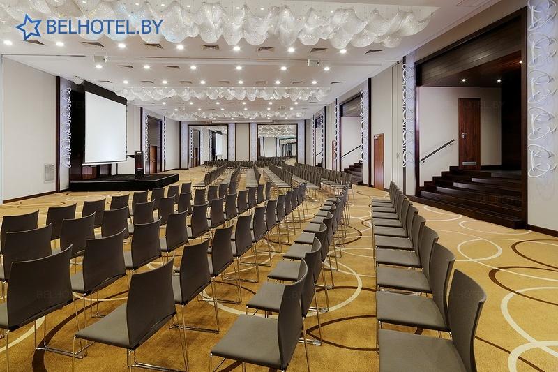 Гасцініцы Беларусі - гатэль Мінск Марыёт / Minsk Marriott Hotel - Канферэнц-зала