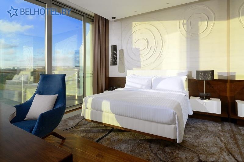 Гасцініцы Беларусі - гатэль Мінск Марыёт / Minsk Marriott Hotel - 1-месны 2-пакаёвы Luxe Hospitality (гатэль)