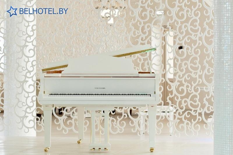 Hotels in Belarus - hotel complex Robinson Club - Banquet room