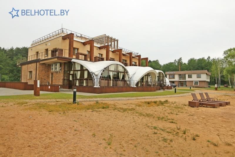 Hotels in Belarus - hotel Riviera - External appearance